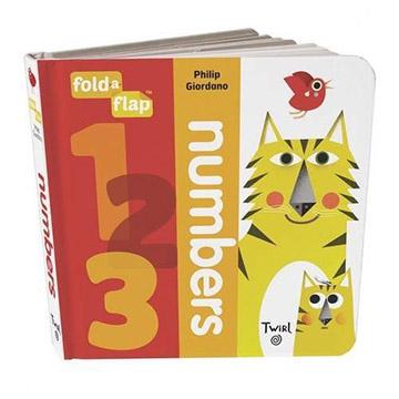 Fold-A-Flap:Numbers數字翻翻書硬頁本(外文書)
