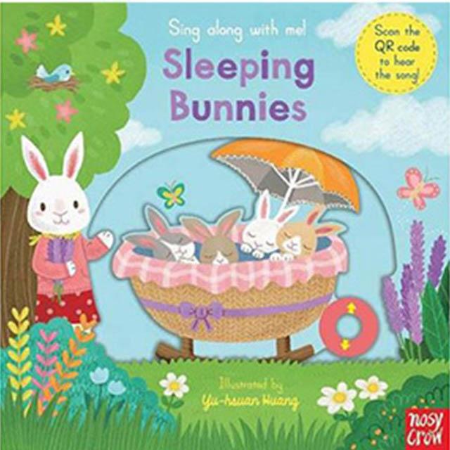 Sing Along With Me! Sleeping Bunnies 小兔兔快起床 童謠歌唱操作書(英國版)(外文書)