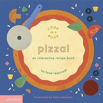 Pizza! An Interactive Recipe Book 來做披薩!互動式食譜操作書(外文書)