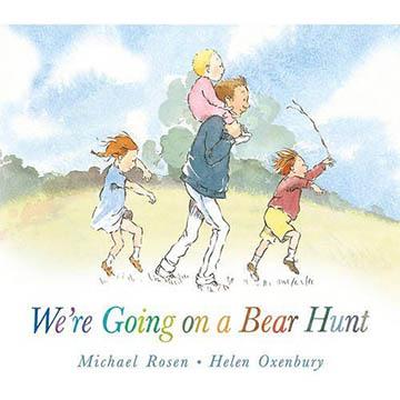 We're Going On A Bear Hunt 我們要去抓狗熊 硬頁故事繪本(外文書)