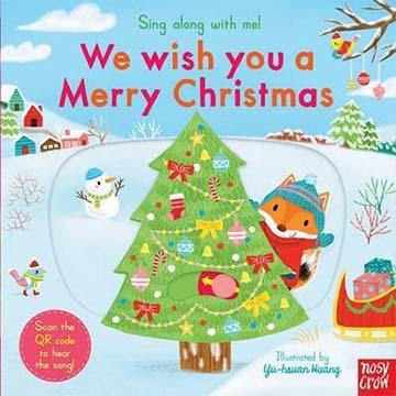 Sing Along With Me! We Wish You A Merry Christmas 經典聖誕歌曲 童謠歌唱操作書(英國版)(外文書)