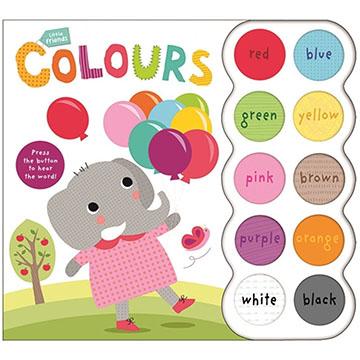 Little Friends:Colours認識顏色硬頁有聲書(英國版)(外文書)