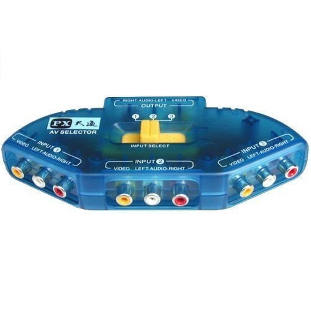 大通 AV-31電玩拍檔 3路影音訊號切換器