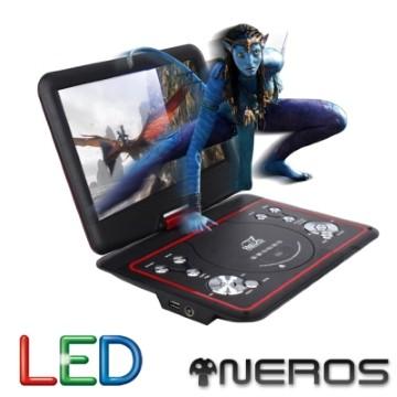 NEROS 10.1吋 未來世界 LED RM8合一 移動式DVD