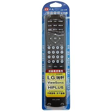 PX大通 LRC-3100 LG液晶電視遙控器