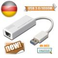 曜兆DIGITUS USB3.0轉RJ-45 Giga 1000Mbps超高速網路卡-支援MAC系統
