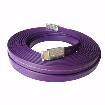 FIRSTCOM 15米HDMI扁線4096x2160超高畫質影音線 1.4版