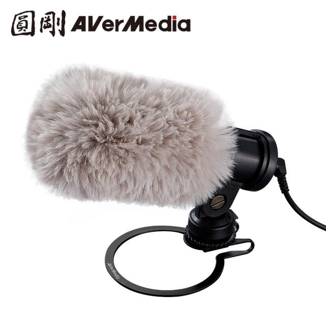 圓剛 AM133 外接式手機專用收音麥克風