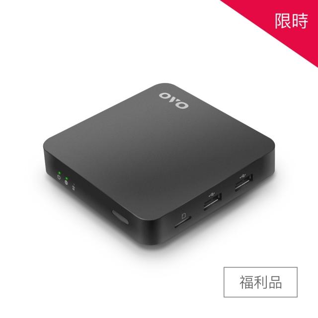 【福利品】OVO B5C國民電視盒