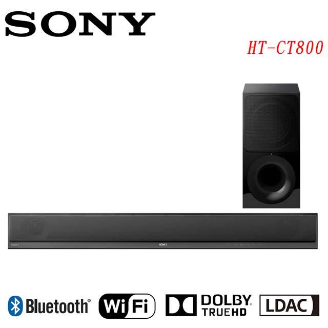 (福利品)SONY 2.1聲道 環繞音響SoundBar HT-CT800