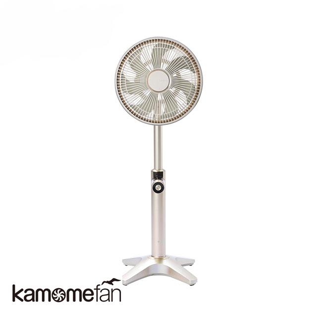 KAMOME FKLT-251D 極靜音金屬循環風扇(金)