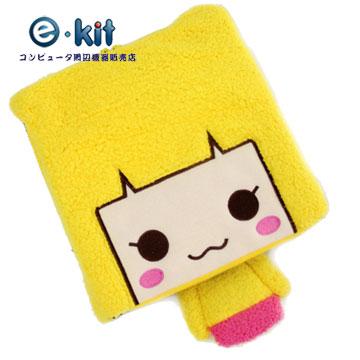 逸奇E-kit USB 可愛造型竹炭護腕保暖滑鼠墊