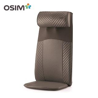 【OSIM】背樂樂OS-260 (按摩背墊/肩頸按摩/背部按摩器) 灰色