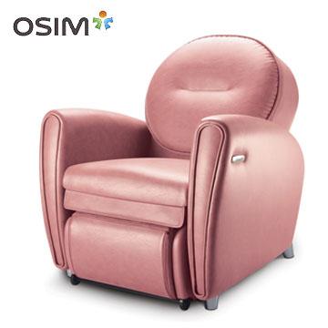 【OSIM】8變小天后按摩椅 OS-875 (全身按摩椅/按摩沙發)  粉紅色款