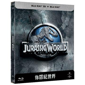 侏羅紀世界 鐵盒版(2D+3D) BD