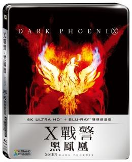 X戰警:黑鳳凰 UHD+BD雙碟鐵盒版  BD