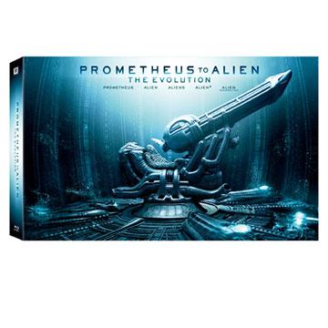 普羅米修斯3D+2D 異形進化套裝 九碟限量禮盒版 BD