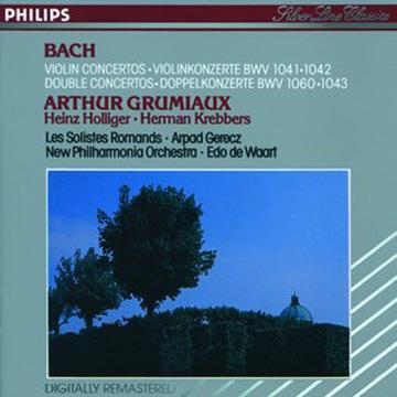巴哈 小提琴協奏曲 CD BWV 1041-1043 (Bach Violin Concertos  Double Concertos)
