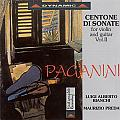 帕格尼尼 - 小提琴與吉他奏鳴曲4 CD</br>Nicolo Paganini: Centone di Sonate for violin and guitar Vol.2|||極光音樂