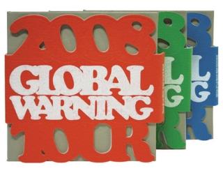Big Bang 2008 Global Warning Tour【進口藍色版】3DVD+40頁寫真