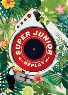 SUPER JUNIOR / 第八張正規改版專輯 REPLAY【台壓特別版】CD