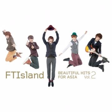 FTIsland / BEAUTIFUL HITS FOR ASIA VOL.2【豪華精裝限定A盤】CD