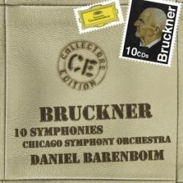 布魯克納:交響曲全集、頌歌、黑格蘭島、詩篇150 10CD