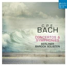柏林巴洛克獨奏家樂團 / C.P.E. 巴哈:協奏曲&交響曲 CD