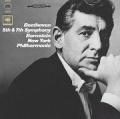 伯恩斯坦(指揮)紐約愛樂 / 貝多芬 Beethoven:第五號&第七號交響曲 CD