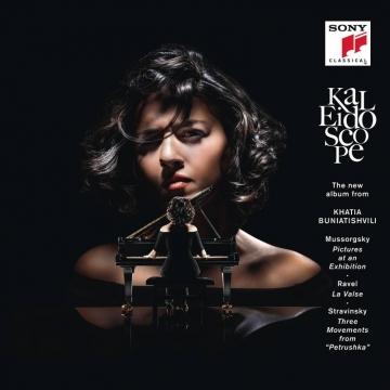 卡蒂雅 Khatia Buniatishvili / 萬花筒~展覽會之畫&彼得羅希卡 Kaleidoscope CD
