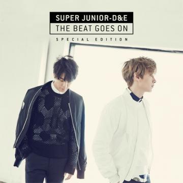 SUPER JUNIOR-D&E / 首張專輯「THE BEAT GOES ON」特別版 / 台壓版 CD
