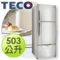 TECO 東元503公升三門冰箱R5013VS