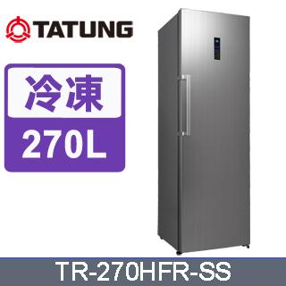 大同270公升冷凍冰箱TR-270HFR-SS