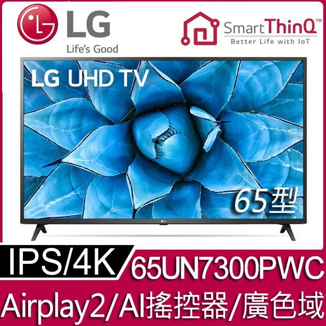 LG 65型 4K智慧物聯網液晶電視 65UN7300PWC
