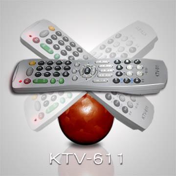 【遙控天王】◎KTV-611卡拉OK點歌機多功能遙控器