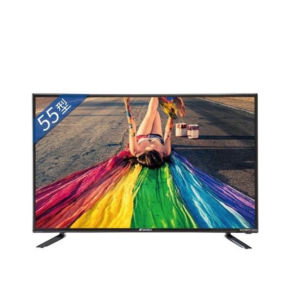 SANSUI山水55型4K安卓智慧連網液晶顯示器電視SLHD-5522