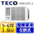TECO東元 左吹式窗型冷氣 MW32FL1