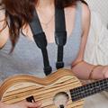 烏克麗麗 ukulele 專用寬版 吊帶(1入/黑色)