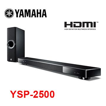 YAMAHA Soundbar YSP系列家庭劇院YSP-2500