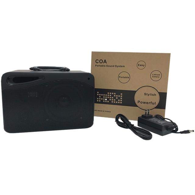 黑爵士 HC-806 100W 2.2Kg 擴音喇叭(鋰電池充電版)