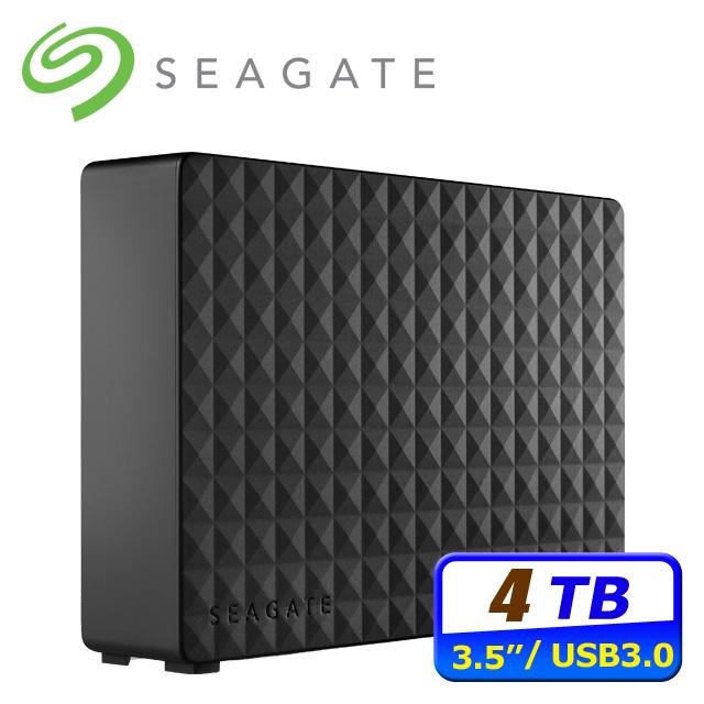 ▼霧面經典菱格▼Seagate 新黑鑽 4TB USB3.0 3.5吋外接硬碟