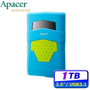 Apacer宇瞻 AC531 1TB USB 3.1 Gen 1 2.5吋行動硬碟