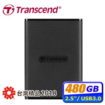 創見 ESD220C 480GB USB3.1 Type-C 2.5吋SSD硬碟