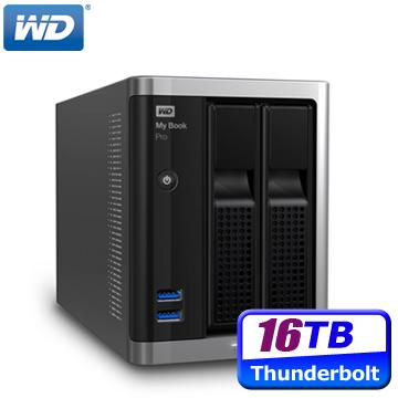 WD My Book Pro 16TB(8TBx2) Thunderbolt RAID 3.5吋外接雙硬碟儲存