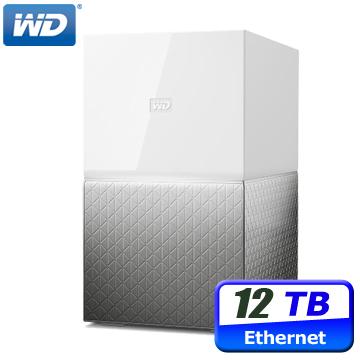 WD My Cloud Home Duo 12TB(6TBx2) 3.5吋雲端儲存系統