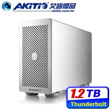 ★原廠破盤殺↘AKiTiO 雷霆3 Thunderbolt3 1.2TB 外接PCIe SSD