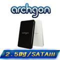 archgon亞齊慷 USB 3.0 2.5吋SATA硬碟外接盒 MH-2619-黑