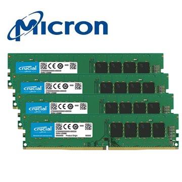 Micron Crucial 美光 DDR4 2666 8GBx4 桌上型記憶體
