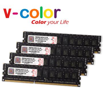V-Color 64G(16GBx4) DDR3 1866 Apple Mac Pro專用 ECC REG DIMM 伺服器專用記憶體