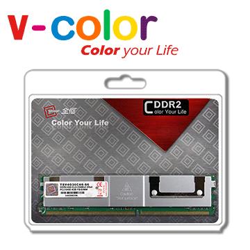 V-Color 4GB DDR2 800 2Rx4FB-DIMM 伺服器專用記憶體